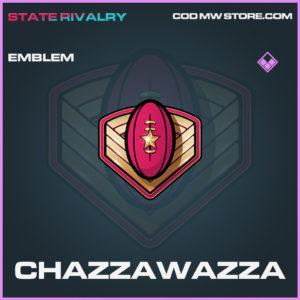 Chazzawazza emblem Call of duty modern warfare warzone item