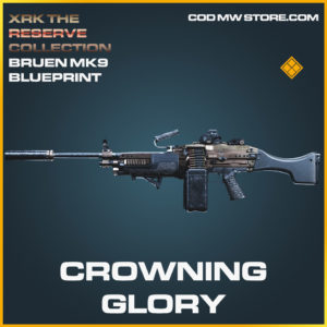 Crowning Glory Bruen MK9 skin legendary blueprint call of duty modern warfare warzone item