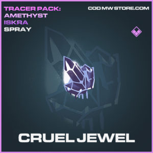 Cruel Jewel Spray epic call of duty modern warfare warzone item