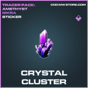 Crystal Cluster sticker call of duty modern warfare warzone item