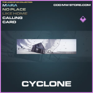Cyclone calling card call of duty modern warfare warzone item