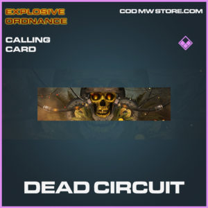 Dead circuit calling card epic call of duty modern warfare warzone item
