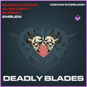 Deadly Blades emblem epic call of duty modern warfare warzone item