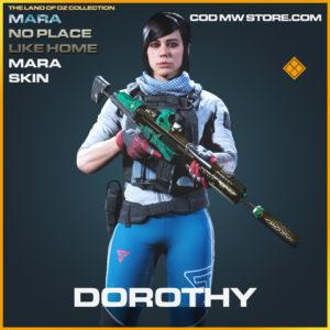 Dorothy Mara No Place Like Home Skin legendary call of duty modern warfare warzone item