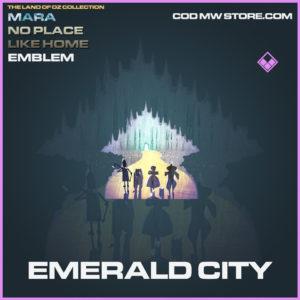 Emerald City emblem epic call of duty modern warfare warzone item