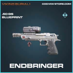 Endbringer .50 GS skin rare blueprint call of duty modern warfare warzone item
