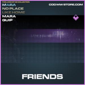 Friends Mara Quip call of duty modern warfare warzone item