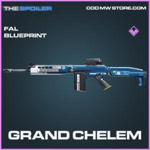 Grand Chelem FAL Skin epic blueprint call of duty modern warfare warzone item