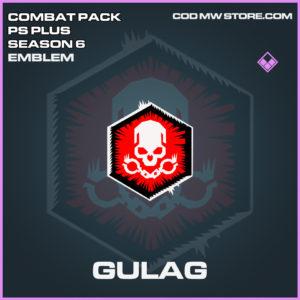 Gulag emblem epic call of duty modern warfare warzone item