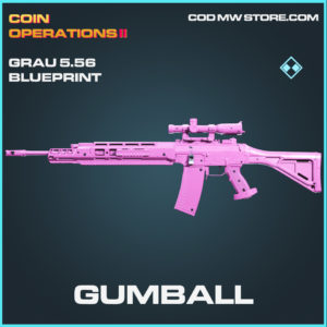 Gumball Grau 5.56 skin rare blueprint call of duty modern warfare warzone item
