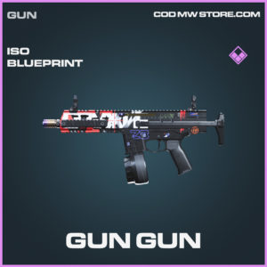 Gun Gun ISO skin epic blueprint call of duty modern warfare warzone item