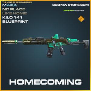 Homecoming Kilo 141 Mara no place like home Skin legendary blueprint call of duty modern warfare warzone item