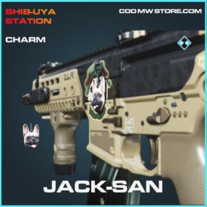 Jack-San charm call of duty modern warfare warzone item