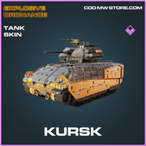 Kursk tank skin epic Explosive Ordnance call of duty modern warfare warzone item