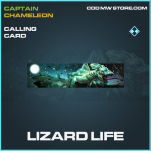 Lizard Life calling card call of duty modern warfare warzone item