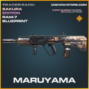 Maruyama RAM-7 skin legendary blueprint call of duty modern warfare warzone item