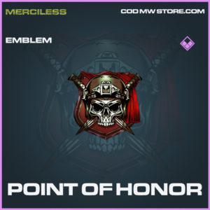 Point of Honor emblem call of duty modern warfare warzone item