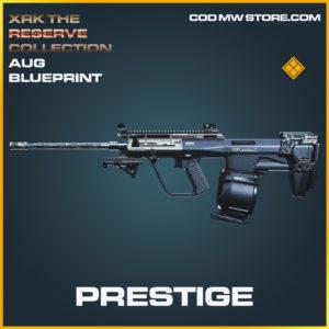 Prestige AUG skin legendary blueprint call of duty modern warfare warzone item