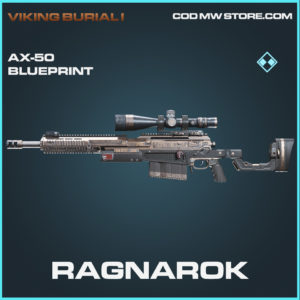 Ragnarok AX-50 skin rare blueprint call of duty modern warfare warzone item