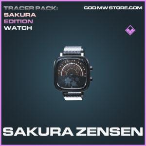 Sakura Zensen watch epic call of duty modern warfare warzone item