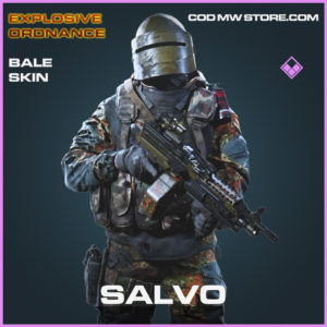 Salvo Bale Operator Skin epic Explosive Ordnance call of duty modern warfare warzone item