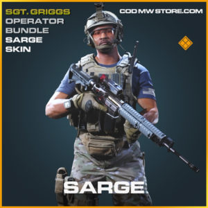 Sarge Skin Sgt. Griggs Operator BundleEpic call of duty modern warfare warzone item