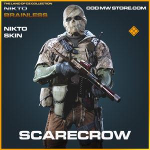 Scarecrow Nikto Skin legendary call of duty modern warfare warzone item