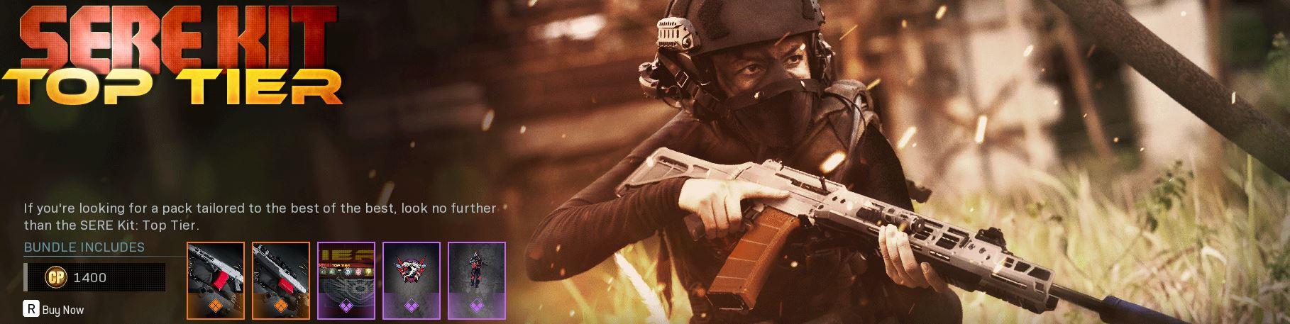 SERE Kit Top Tier bundle banner