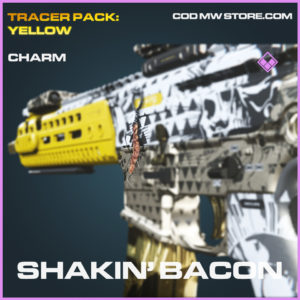 Shakin' Bacon Charm call of duty modern warfare warzone item