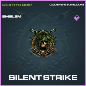 Silent Strike emblem epic death's grip call of duty modern warfare warzone item