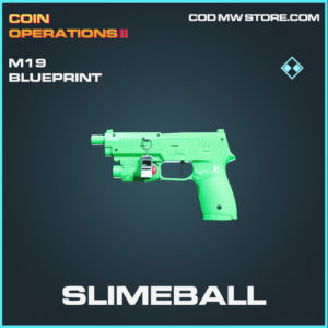Slimeball M19 skin rare blueprints call of duty modern warfare warzone item
