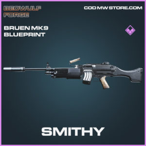 Smithy Bruen MK9 skin epic blueprint Beowulf Forge call of duty modern warfare warzone item