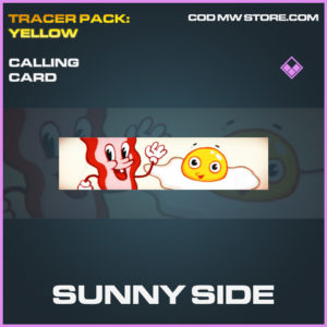 Sunny Side calling card epic call of duty modern warfare warzone item