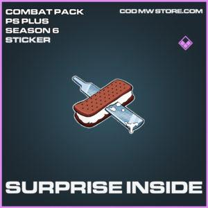 Surprise Inside Sticker epic call of duty modern warfare warzone item
