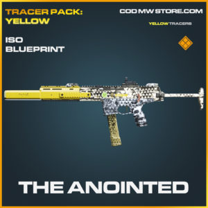 The Anointed ISO Skin legendary blueprint call of duty modern warfare warzone item