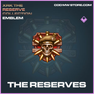 The Reserves emblem epic call of duty modern warfare warzone item