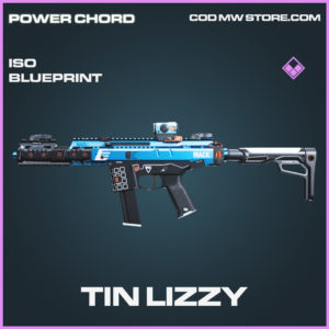 Tni Lizzy ISO skin epic blueprint call of duty modern warfare warzone item