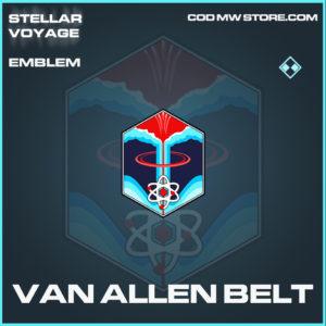 Van Allen Belt emblem rare call of duty modern warfare warzone item