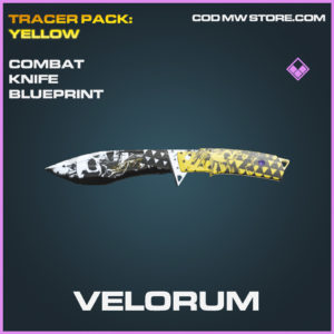 Velorum Combat Knife Skin epic blueprint call of duty modern warfare warzone item