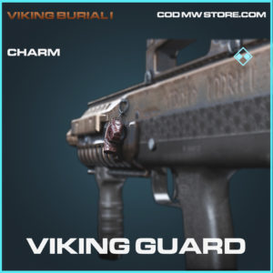 Viking Guard charm rare call of duty modern warfare warzone item