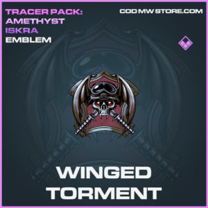 Winged Torment emblem epic call of duty modern warfare warzone item