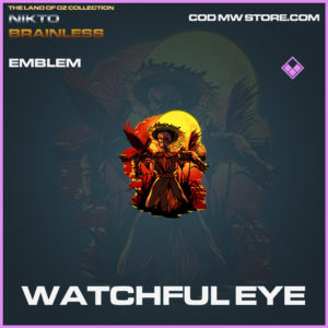 Watchful Eye emblem epic call of duty modern warfare warzone item