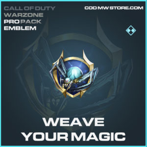 Weave Your Magic emblem Call of Duty modern warfare warzone item
