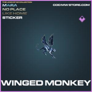 Winged Monkey sticker call of duty modern warfare warzone item
