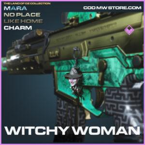 Witchy WOman charm mara no place like home call of duty modern warfare warzone item