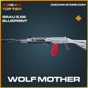 Wolf Mother Grau 5.56 skin legendary blueprint SERE Kit Top Tier call of duty modern warfare warzone item