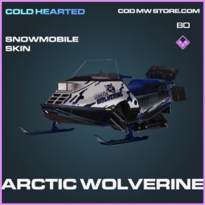 Arctic Wolverine Snowmobile Skin in Call of Duty Black Ops Cold War
