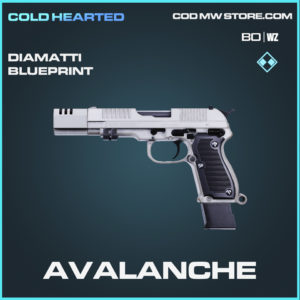 Avalanche Diamatti skin rare blueprint in Call of Duty Black Ops Cold War and Warzone