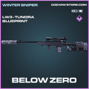 Below Zero LW3 - Tundra blueprint skin in Call of Duty Black Ops Cold War and Warzone