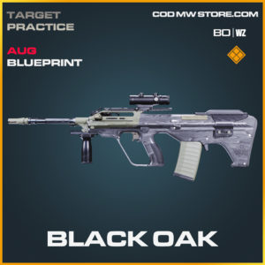 Black Oak AUG skin legendary blueprint in Call of Duty Black Ops Cold War and Warzone